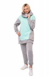 Костюм Bliss Warm цвет Grey&Mentol